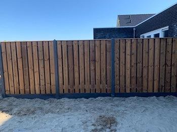 Nobifix houten schutting